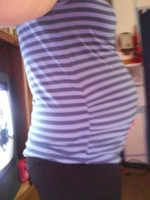 My growin' belly