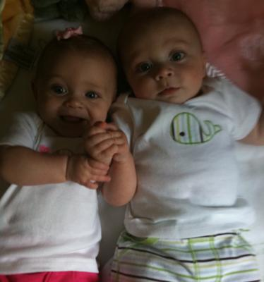 Isabella and Luke!! Already Best Friends at 6 Months!