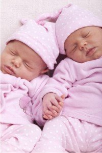 Identical Twin Baby Girls