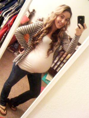 This is me a few days ago i'm on my 37th week.