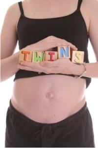 Twin Pregnancy Belly Blocks