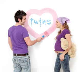Twin Nursery Pictures Decorating Ideas For Twins Room