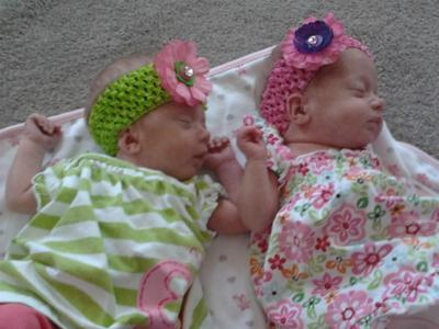 Aubree and Avalynn