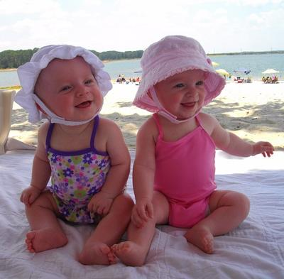 Our Beautiful Identical Twin Girls...Gemma Paige and Lilah Rose