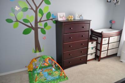 Boy Girl Twins Nursery Simple Decor