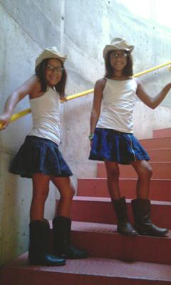 Cowgirl Twisters (twin sisters)