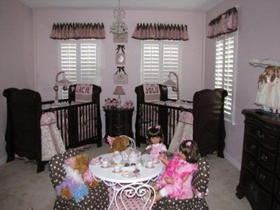 Girly Girls Nursery For Girl Girl Twins