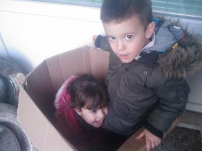 we love each other even in the box xD