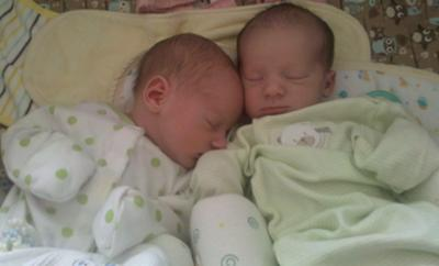 Regan Anne on the left, Henry Ryan on the right