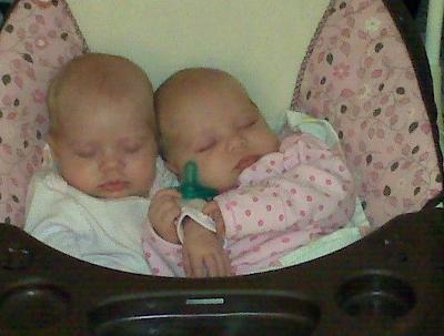 Isabelle and Elizabeth cuddle bugs