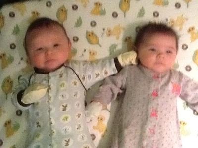 Sibling rivalry begins!