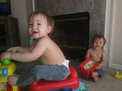 Luke and Logan