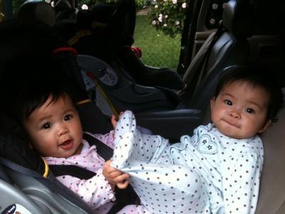 Chillin in the car