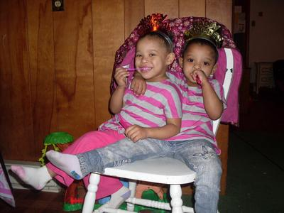 Happy Third Birthday, Ti'Lea and Ti'Kayla