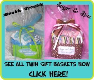 Twin Gift Basket Photos