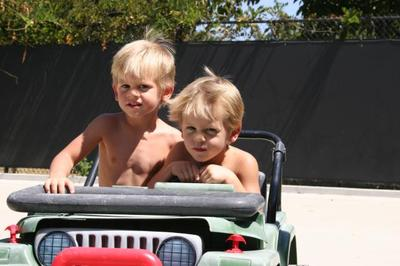 Nolan and Wyatt