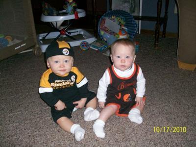 Joseph & Addisyn ~ Go Steelers