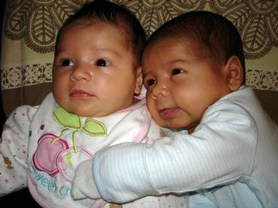 Caterina & Gianluca (6 weeks old)