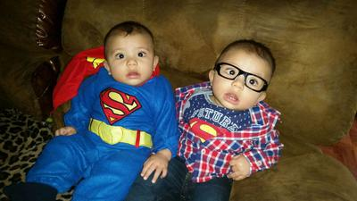 Superman and Clark Kent