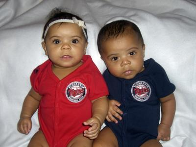 Khloe and Kai born on 7-16-10