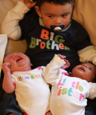 Twin Birth Not As Planned