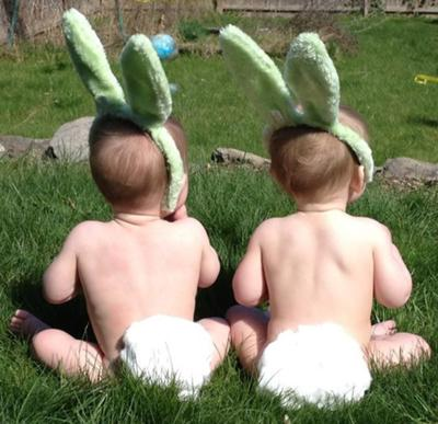 Easter Twins!
