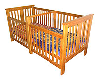 Twin Cribs Beds Made For Twins