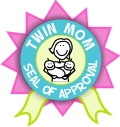 Official Twin Mom Seal Of Approval from Twin-Pregnancy-And-Beyond.com