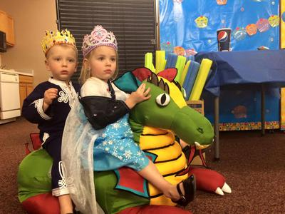 3-year-olds Ashlynn & Riley