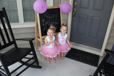 Twins Turning TWO!!