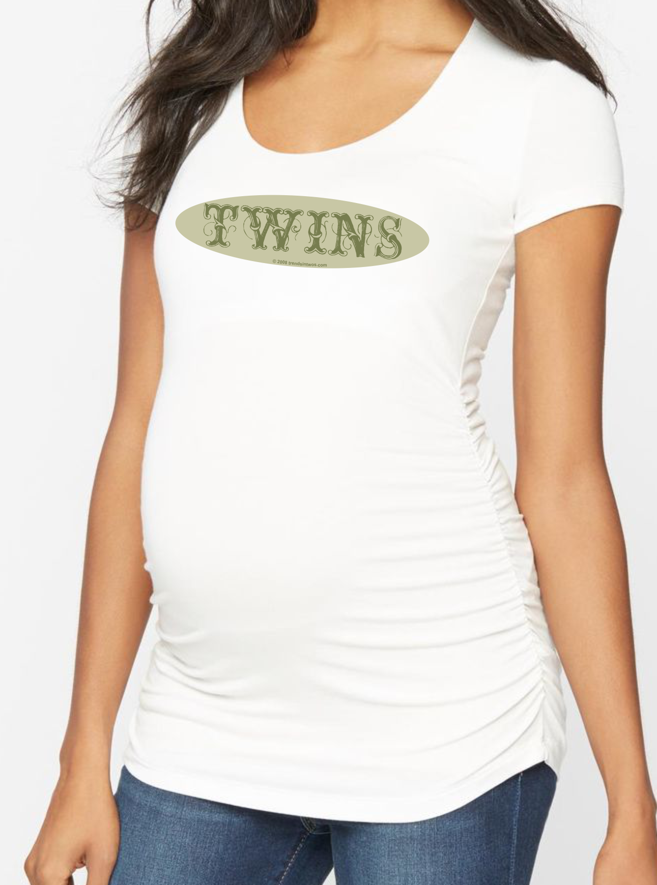 Twin Belly Pictures From 0 to 12 Weeks Pregnant With Twins