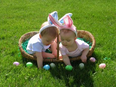 Who said there aren't 2 Easter Bunnies?