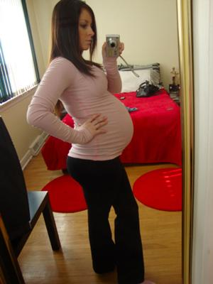 22 weeks belly!