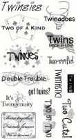 Twins Stickers