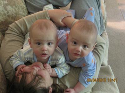 Mama, Connor and Matthew