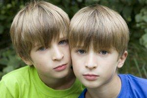 Cute Identical Boys