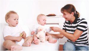 teaching twins sign language