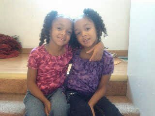 Annalise & Alexis age 5
