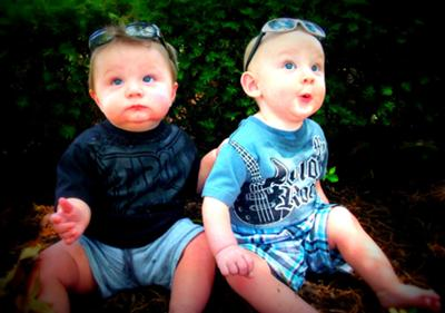 Barrett and Braylan (8 months)